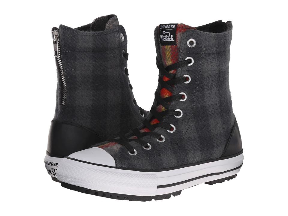 Converse - Chuck Taylor(r) All Star(r) Hi-Rise Woolrich Boot X-Hi (Thunder/Black/Casino) Women's Classic Shoes