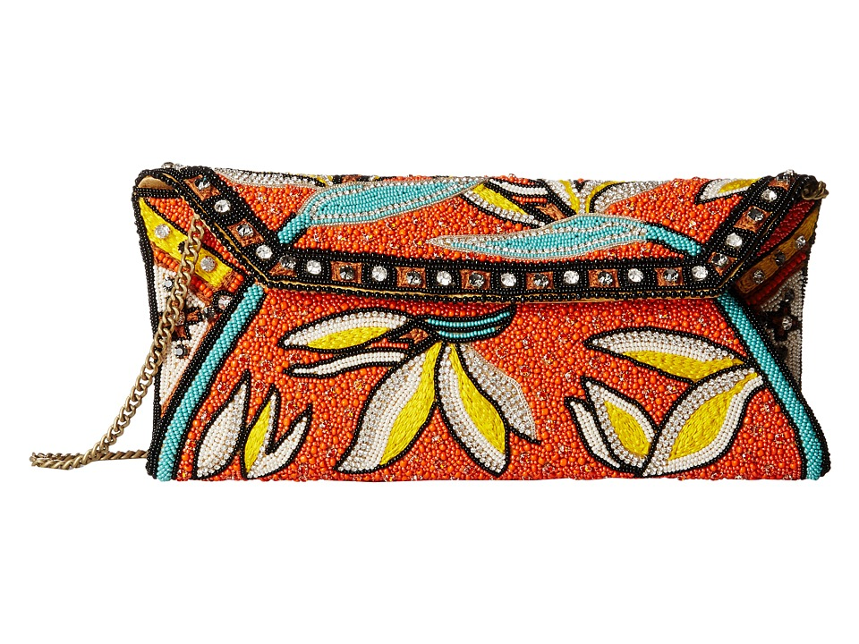 Mary Frances - Hana (Orange Multi) Handbags