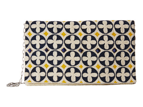 Mary Frances - Criss-Cross (White Multi) Handbags