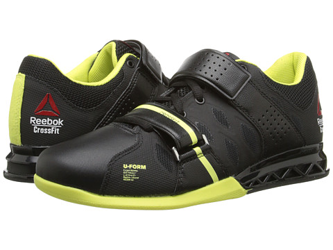 Reebok - Crossfit Lifter Plus 2.0 (Black/High Vis Green) Women's Shoes