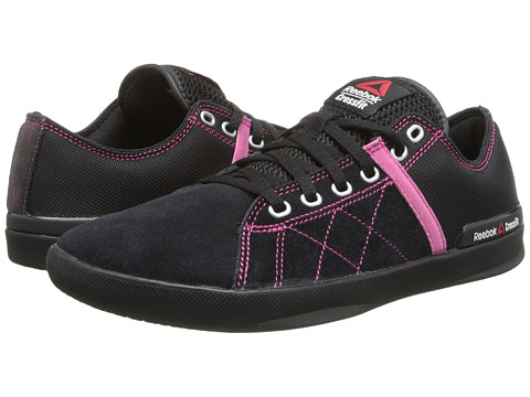 Reebok - Crossfit Lite Lo Tr Poly (Black/Pink Fusion/Steel) Women's Shoes