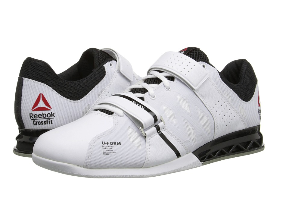 Reebok - Crossfit Lifter Plus 2.0 (White/Black/Porcelain) Men's Shoes