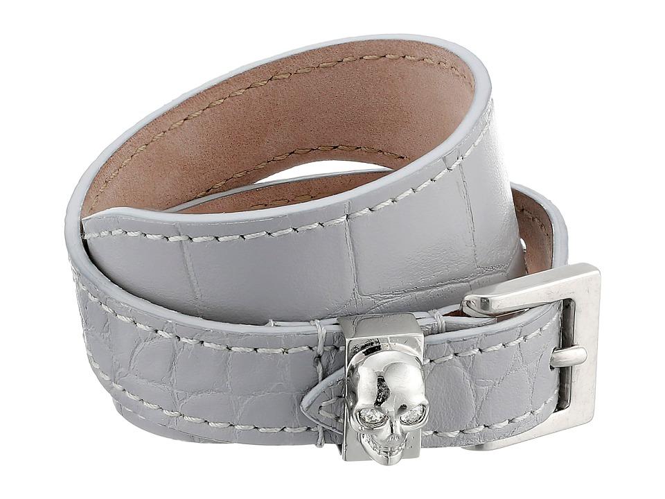 Alexander McQueen - Bracelet (Grey/Blue) Bracelet