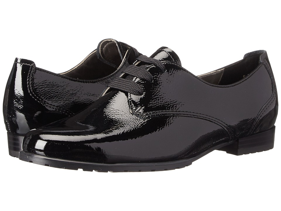 ara - Katherine (Black Crinkle Patent) Women's Shoes