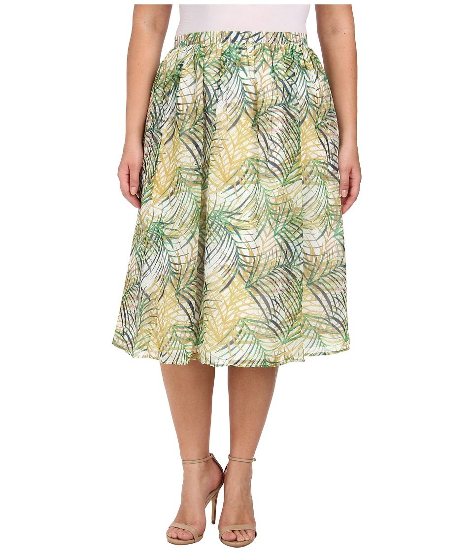 BB Dakota - Plus Size Cid (Multi) Women's Skirt