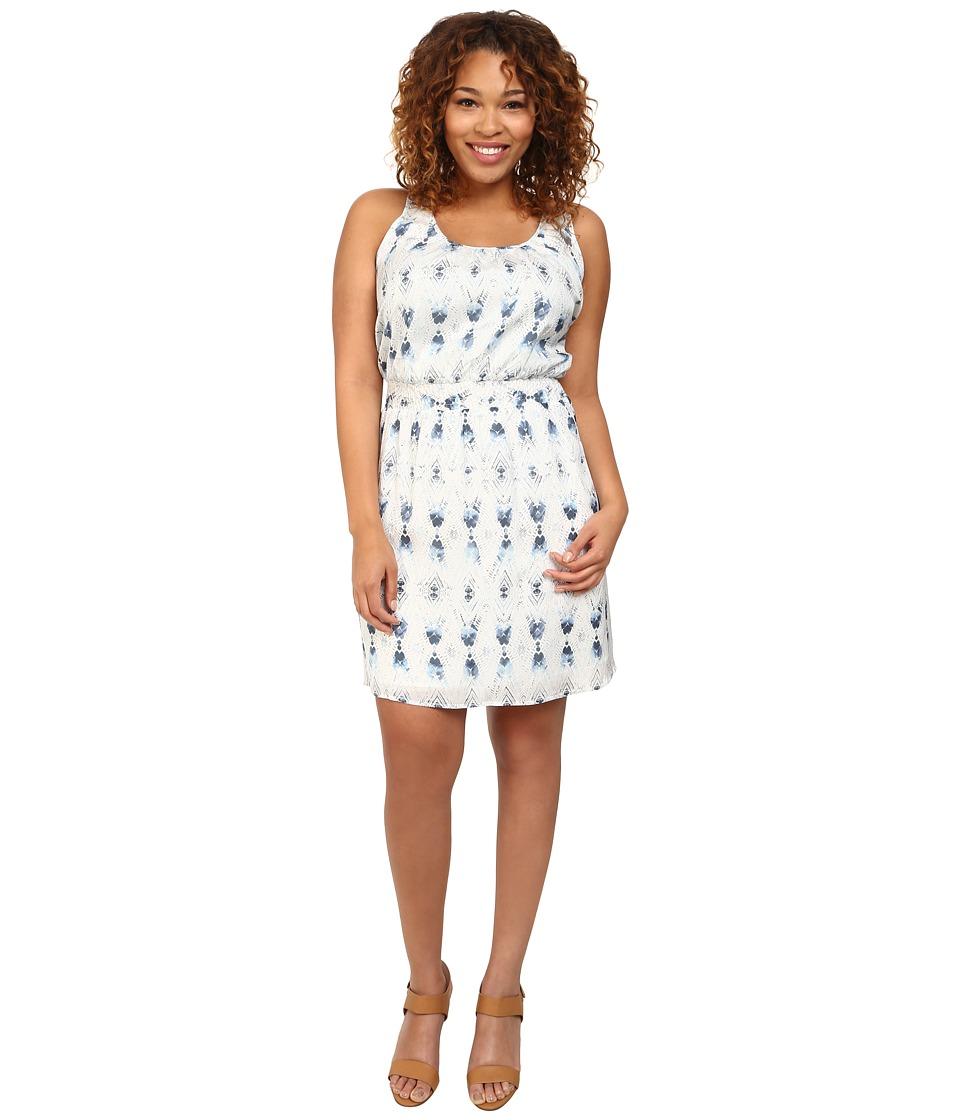 BB Dakota - Plus Size Jodan (Baltic Blue) Women's Dress