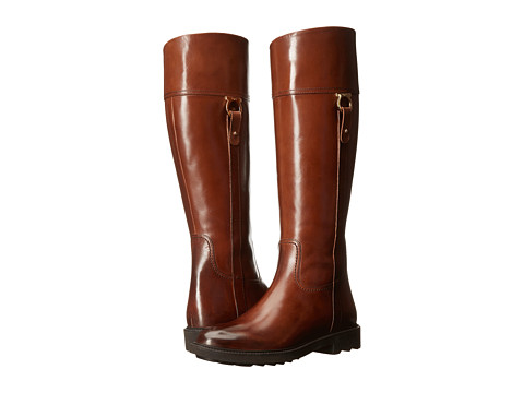 Salvatore Ferragamo - Leone (Chocolate/Crust Super Calf) Women