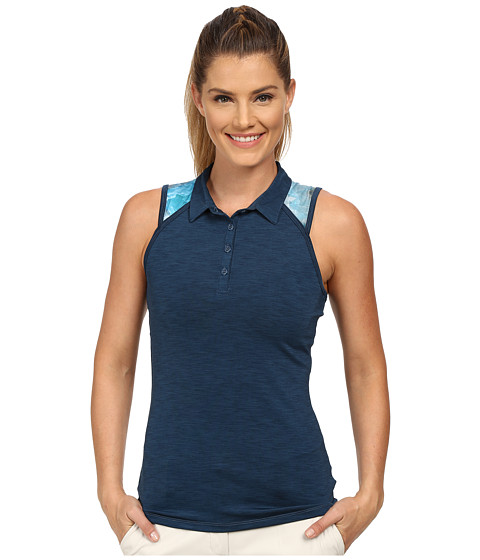 LIJA - Tournament Sleeveless Polo (Abyss) Women's Sleeveless