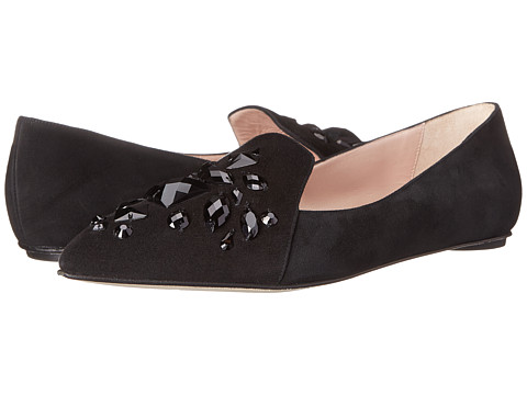 Oscar de la Renta - Hilery 5mm (Black) Women's Slip on Shoes