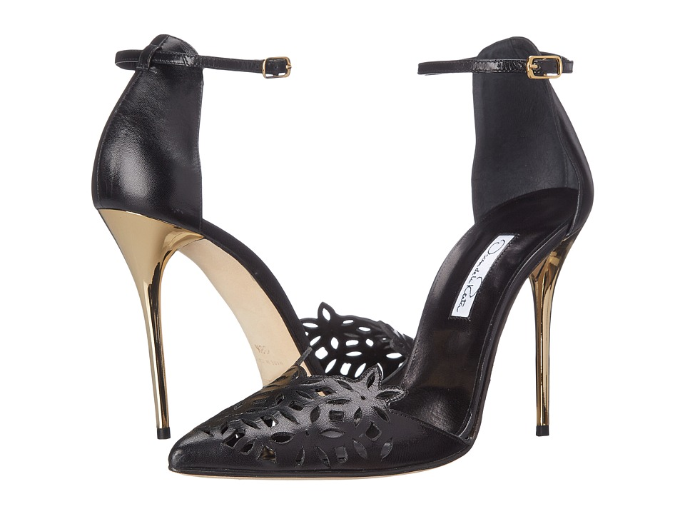 Oscar de la Renta - Fezra 100mm (Black) High Heels