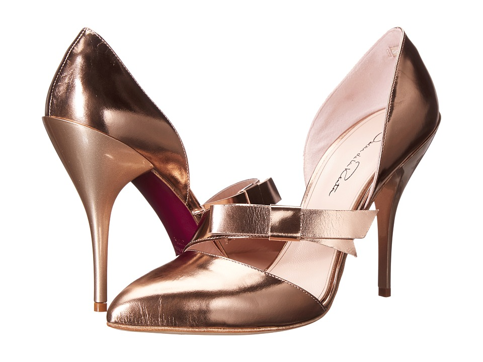 Oscar de la Renta Fauna 105mm (Copper) High Heels