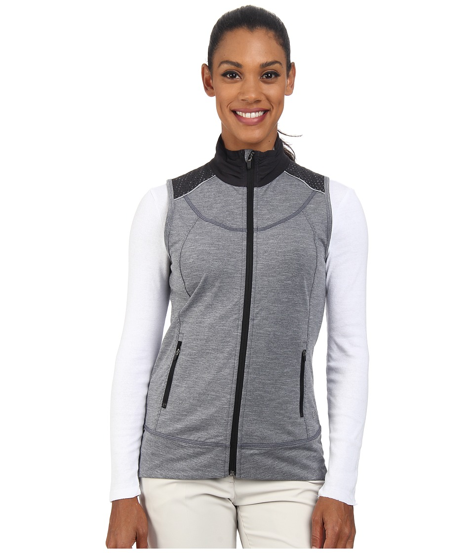 LIJA - Wind Vest (Black Heather) Women's Vest