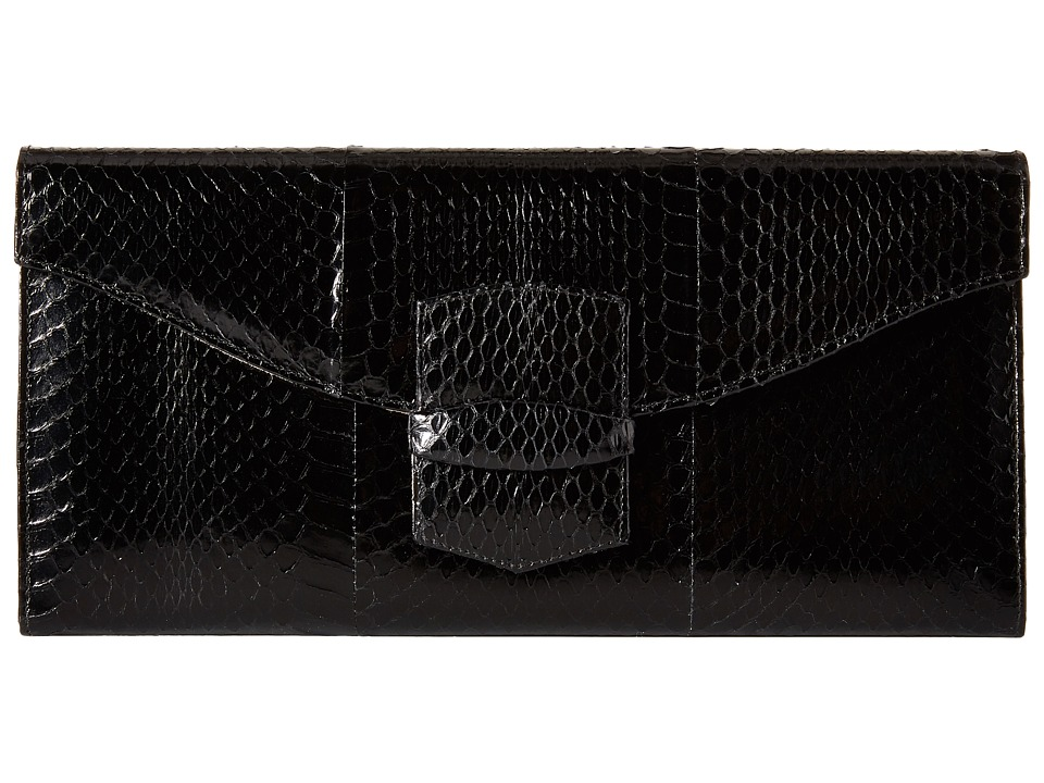 Oscar de la Renta - East West Grafton (Black) Clutch Handbags