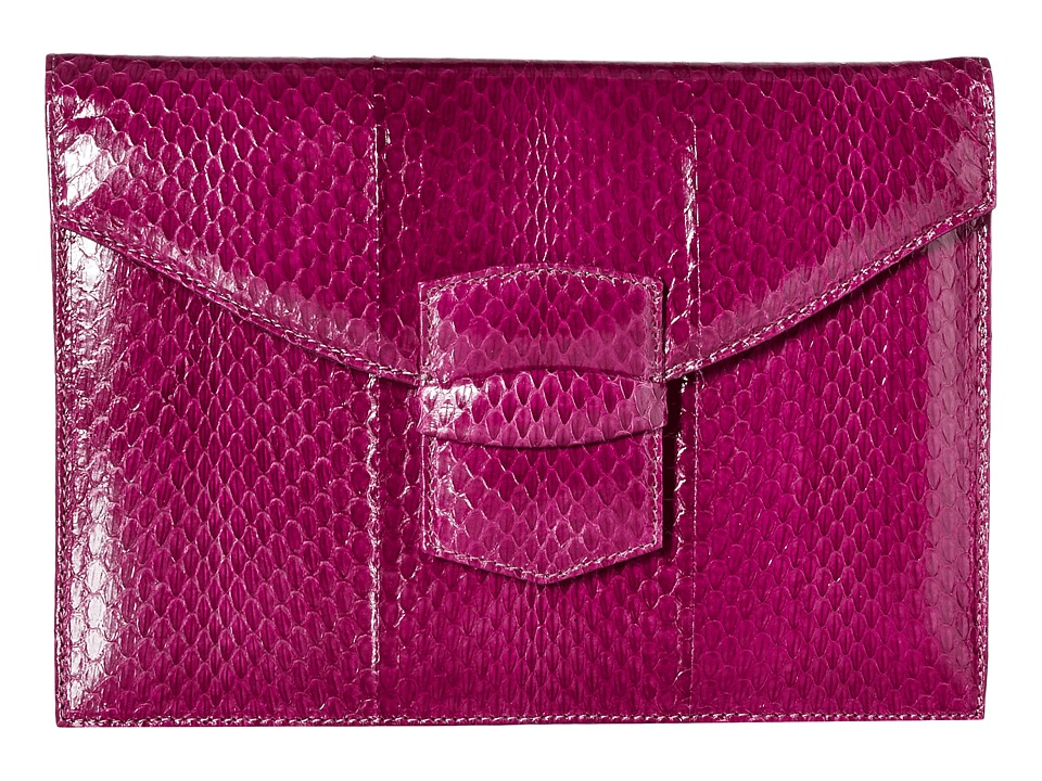 Oscar de la Renta - Small Grafton (Bordeaux) Clutch Handbags