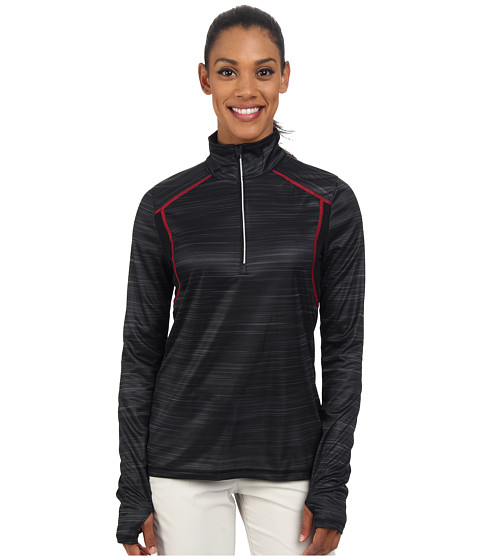LIJA - Trailblazer 1/4 Zip Top (Black) Women's Clothing