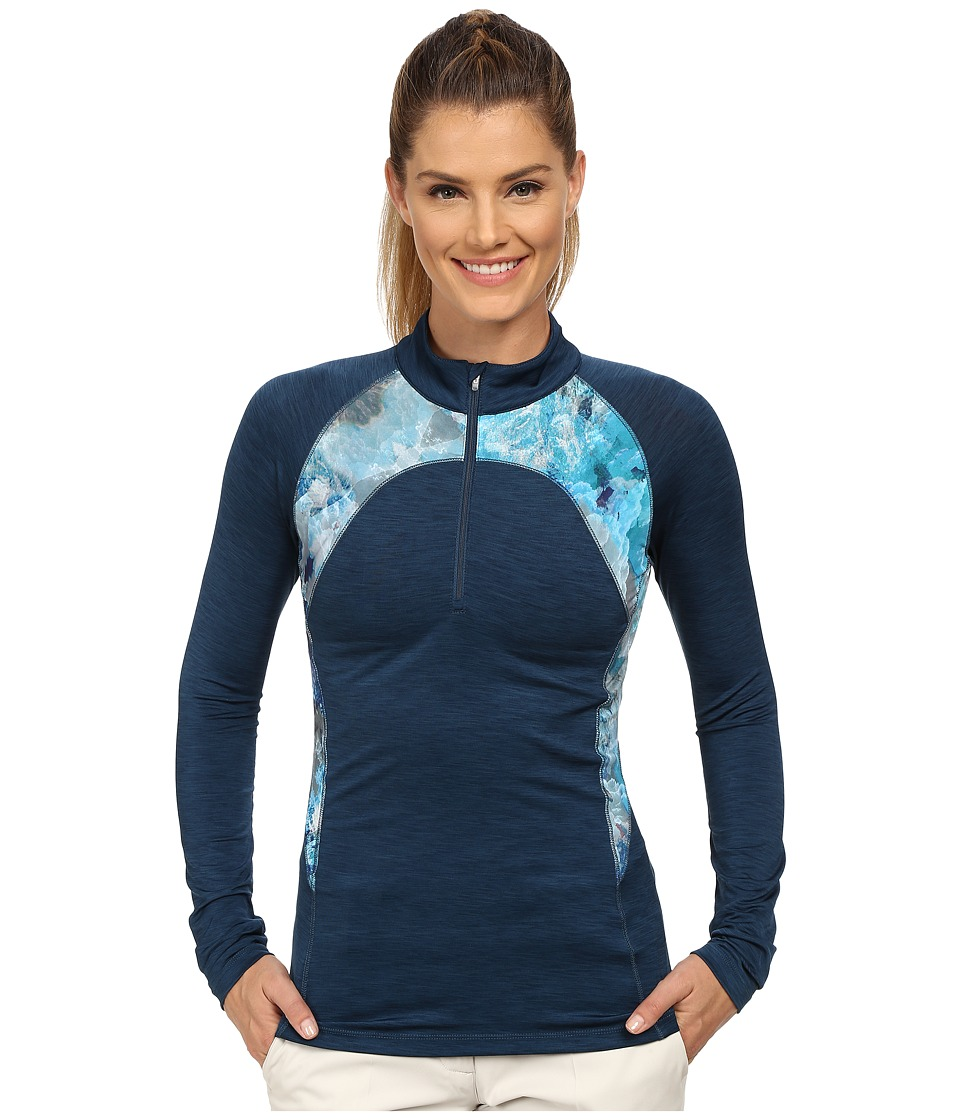 LIJA - Streamline 1/4 Zip Top (Abyss) Women's Clothing