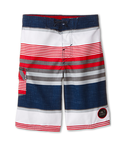 O'Neill Kids - Santa Cruz Stripe (Little Kids) (Dark Navy) Boy's Swimwear