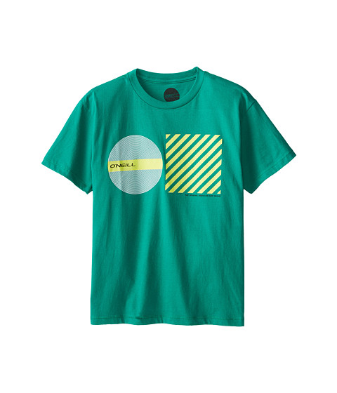 O'Neill Kids - Prague Tee (Big Kids) (Green) Boy's T Shirt