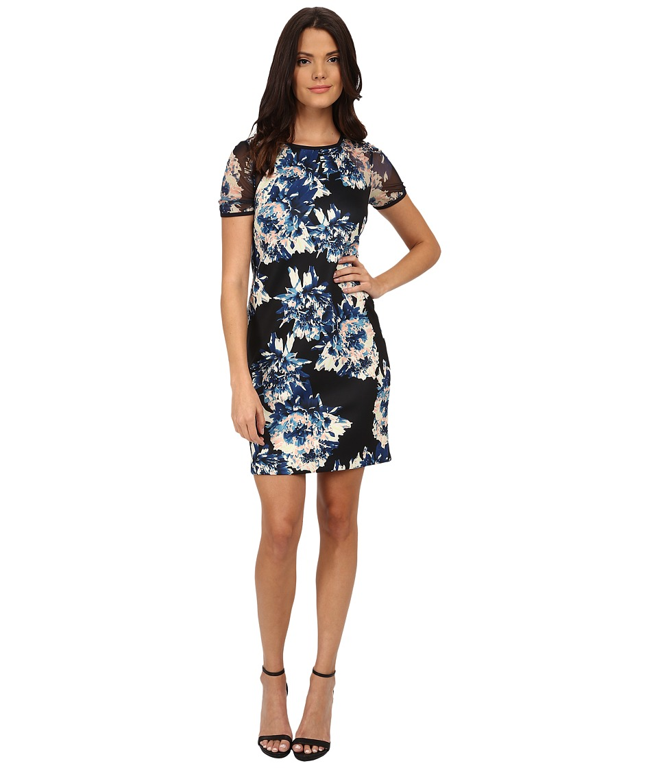 CATHERINE Catherine Malandrino - Vine Dress (Noir Blossom) Women's Dress