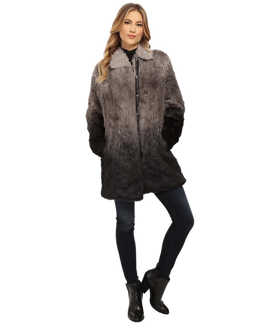 CATHERINE Catherine Malandrino - Carlotta Coat (Grey Combo) Women's Coat