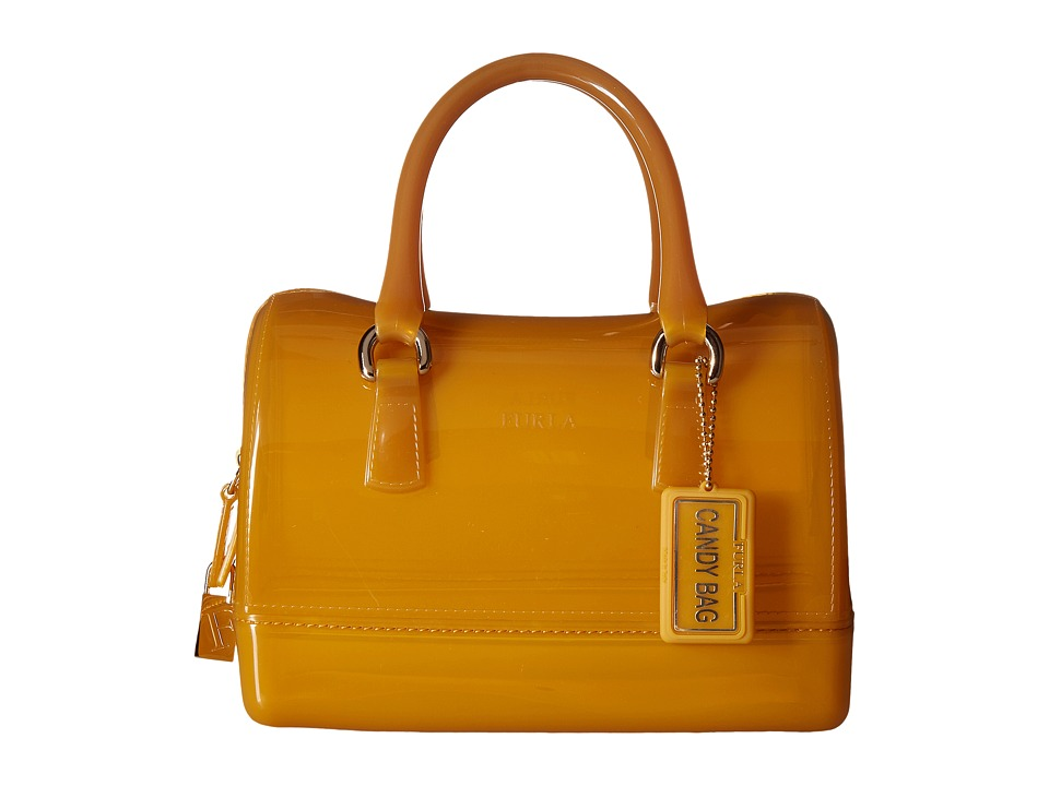Furla - Candy Mini Satchel (Girasole) Satchel Handbags