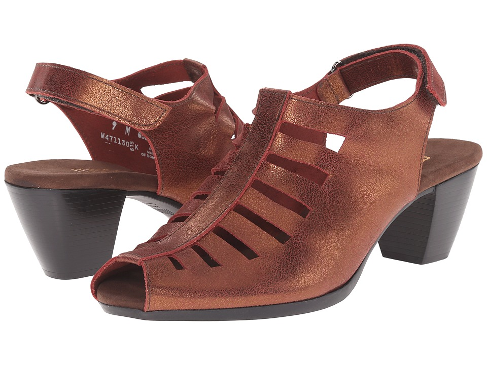 Munro - Abby (Wine Nubuck) Women's Shoes