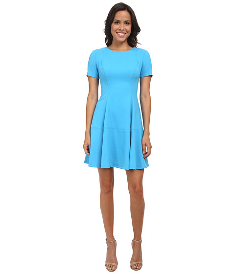 Shoshanna - Davy Dress (Sky) Women's Dress