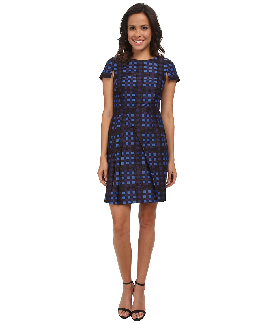 Shoshanna - Evelyn Dress (Cobalt Multi) Women's Dress