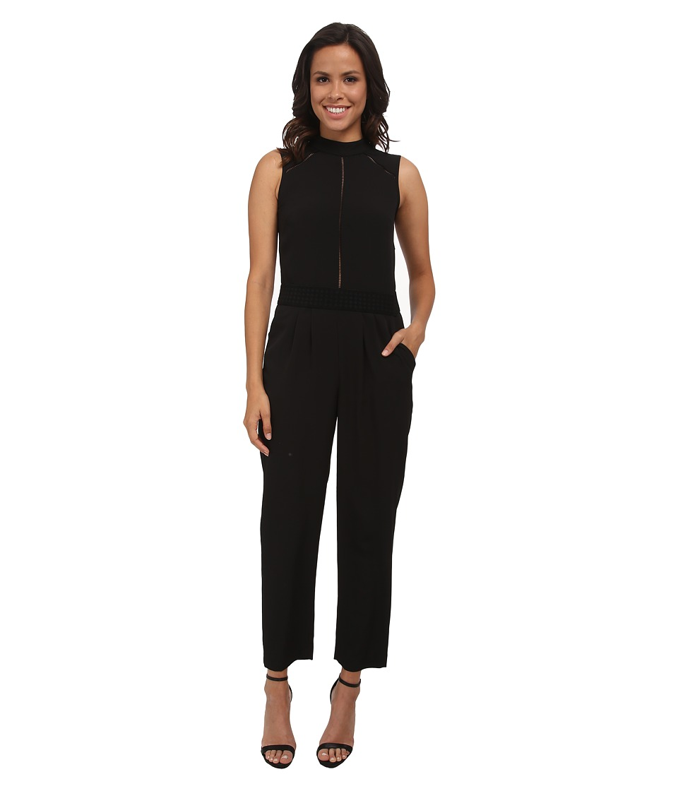 Shoshanna - Renard Jumpsuit (Jet) Women's Jumpsuit & Rompers One Piece