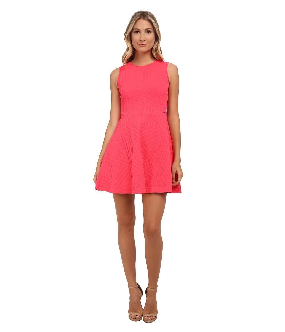 Shoshanna Karen Dress (Coral) Women