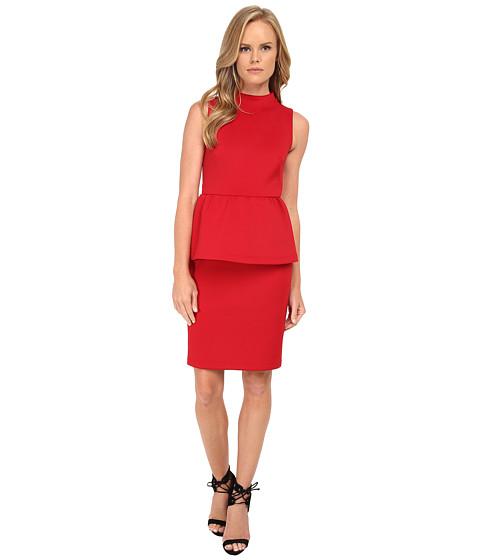 Shoshanna - Dahlia Dress (Merlot) Women's Dress