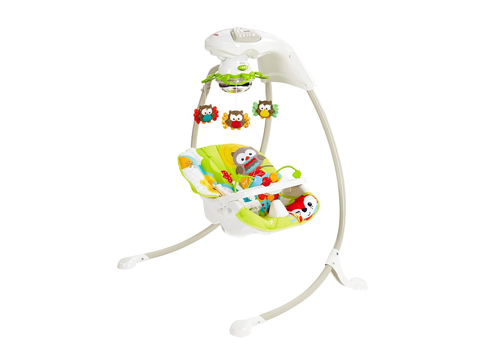 Fisher Price - Woodland Friends Cradle 'n Swing (Woodland) Carriers Travel