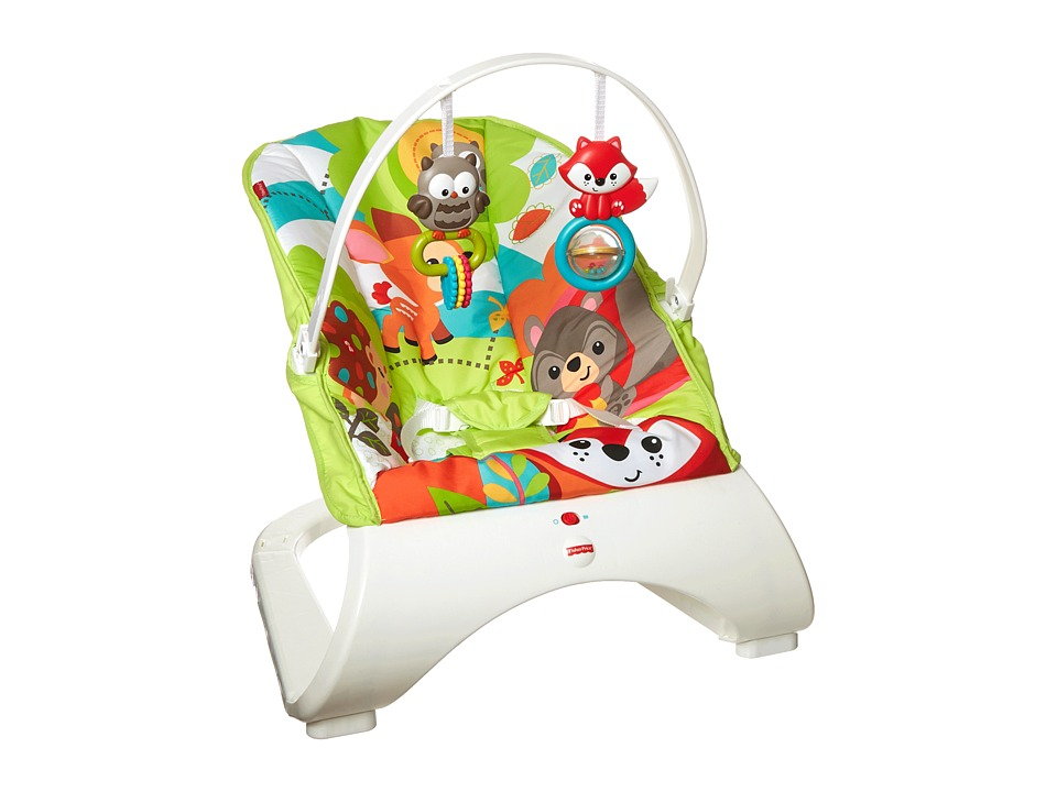 Fisher Price - Comfort Curve Bouncer (Woodland) Carriers Travel