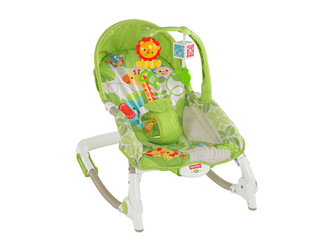 Fisher Price - Newborn-to-Toddler Rocker (Rainforest Friends) Carriers Travel