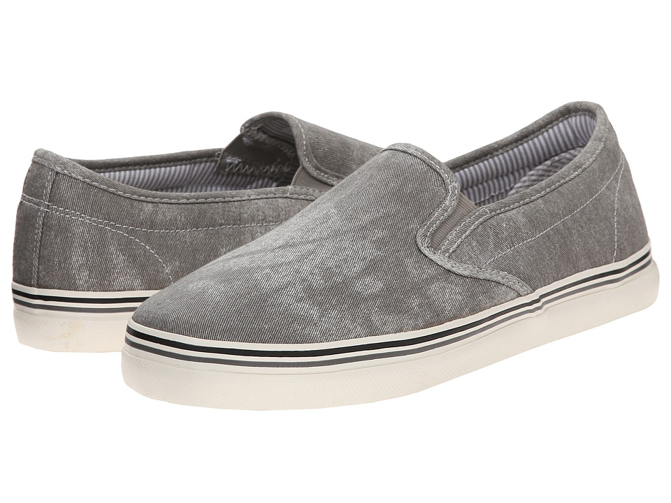 Kenneth Cole Reaction - Globe Trotter (Grey) Men's Slip on Shoes