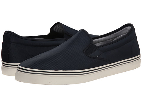 Kenneth Cole Reaction - Globe Trotter (Navy) Men's Slip on Shoes