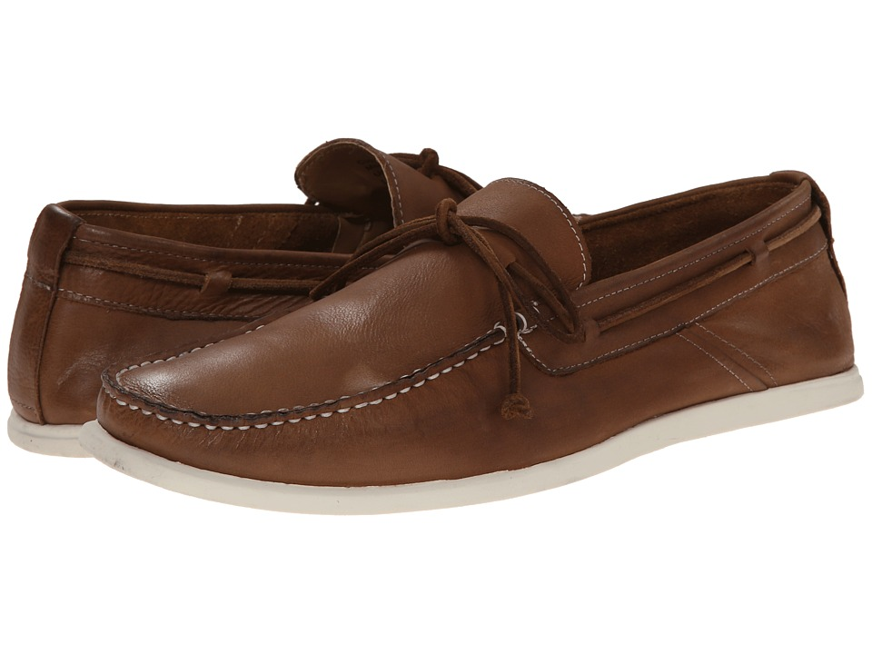Kenneth Cole Reaction - Cup'a Tea (Cognac) Men's Slip on Shoes