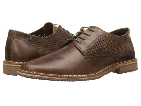 Kenneth Cole Reaction - Off Topic (Cognac) Men's Lace up casual Shoes