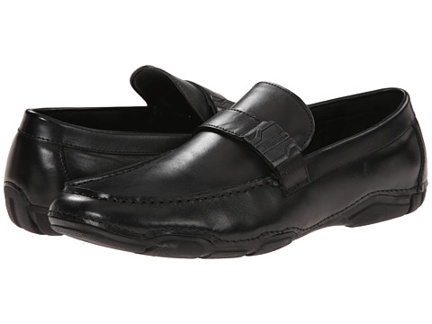 Kenneth Cole Reaction - Con-Tour (Black) Men's Slip on Shoes