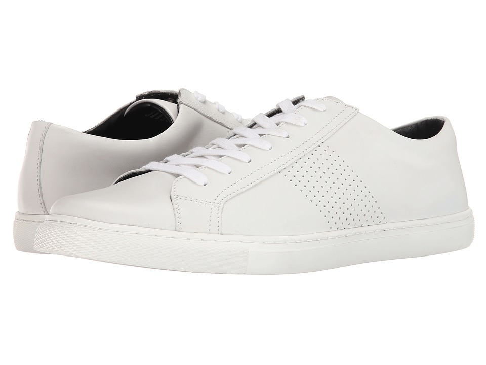 Kenneth Cole Reaction - Can-Didly (White) Men's Lace up casual Shoes