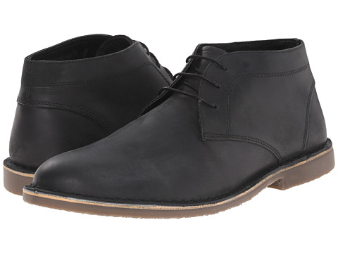 Kenneth Cole Reaction - Desert Island (Black) Men's Lace-up Boots