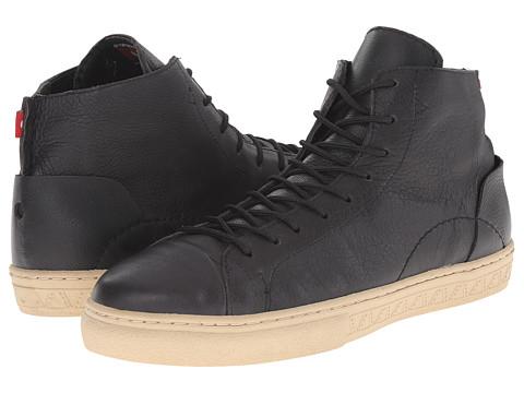 Oliberte - Bokoroo (Bold Black Full Grain) Men's Work Boots