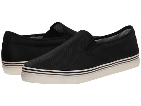 Kenneth Cole Reaction - Globe Trotter (Black) Men's Slip on Shoes