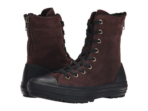 Converse - Chuck Taylor All Star Hi-Rise Boot (Burnt Umber/Black/Natural) Women's Classic Shoes
