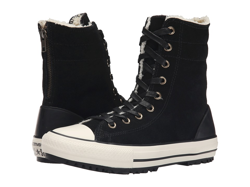 Converse - Chuck Taylor All Star Hi-Rise Boot (Black/White/Egret) Women
