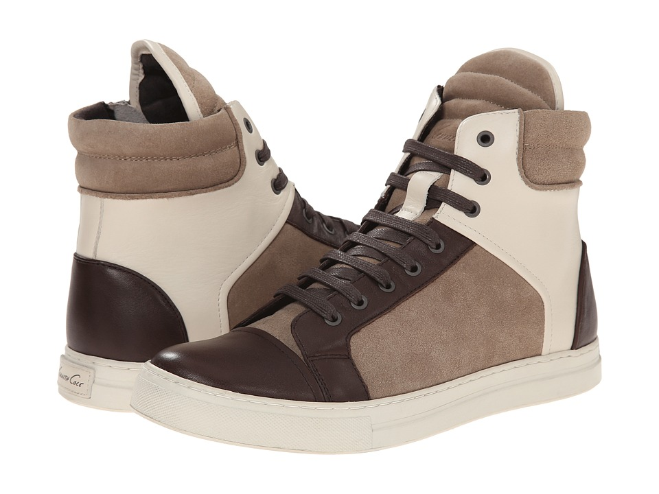 Kenneth Cole New York Double Header (Taupe/Ivory) Men