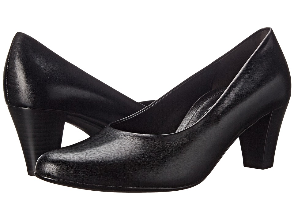 Gabor - Gabor 06.170 (Black Kid) Women's 1-2 inch heel Shoes