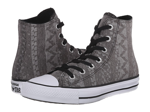 Converse - Chuck Taylor All Star Winter Point Hi (Black/White/White) Women