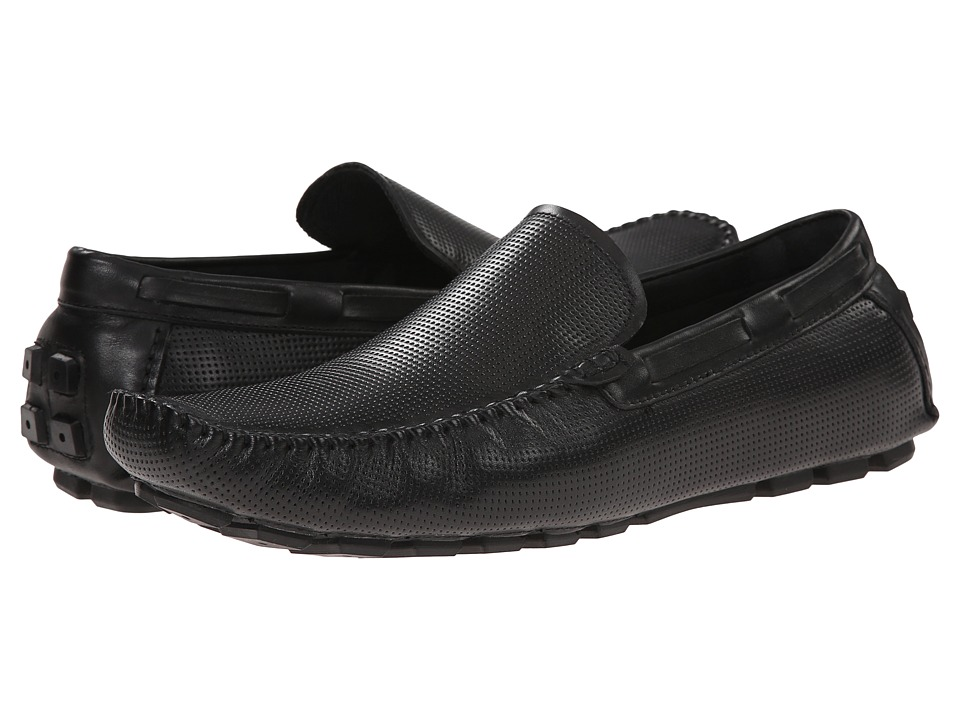 Kenneth Cole New York - On the Hour (Black) Men's Slip on Shoes
