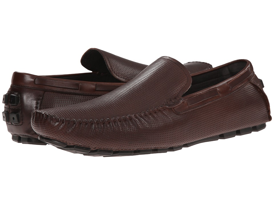 Kenneth Cole New York - On the Hour (Brown) Men's Slip on Shoes
